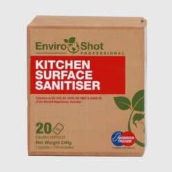 Environmentally friendly kitchen sanitiser