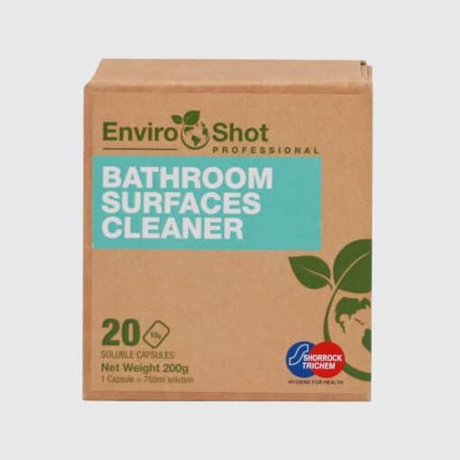 Environmentally friendly bathroom cleaner
