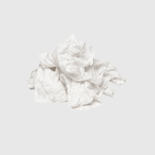 White Towelling Rags